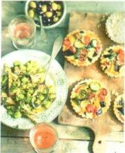 Tartelettes aux légumes2