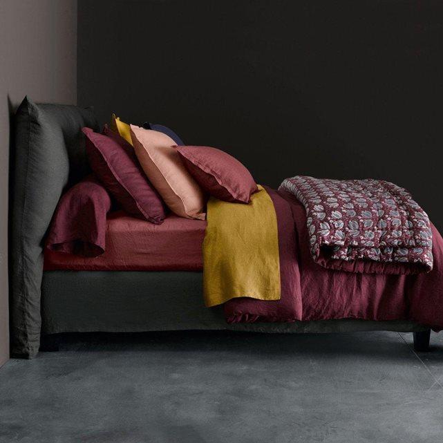 Coup de c ur pour le linge de lit en pur lin lav - Housse de couette lin ampm ...